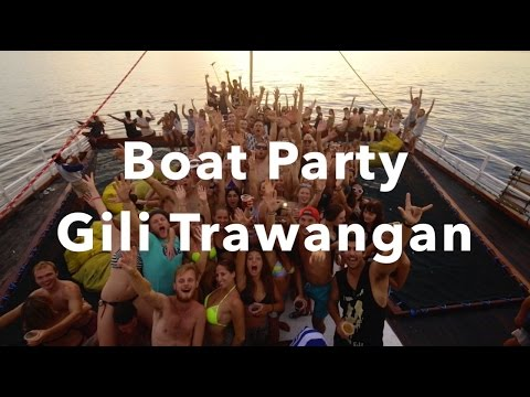 Boat Party - Gili Trawangan