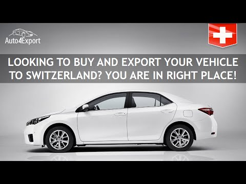 Shipping cars from USA to Switzerland - Auto4Export