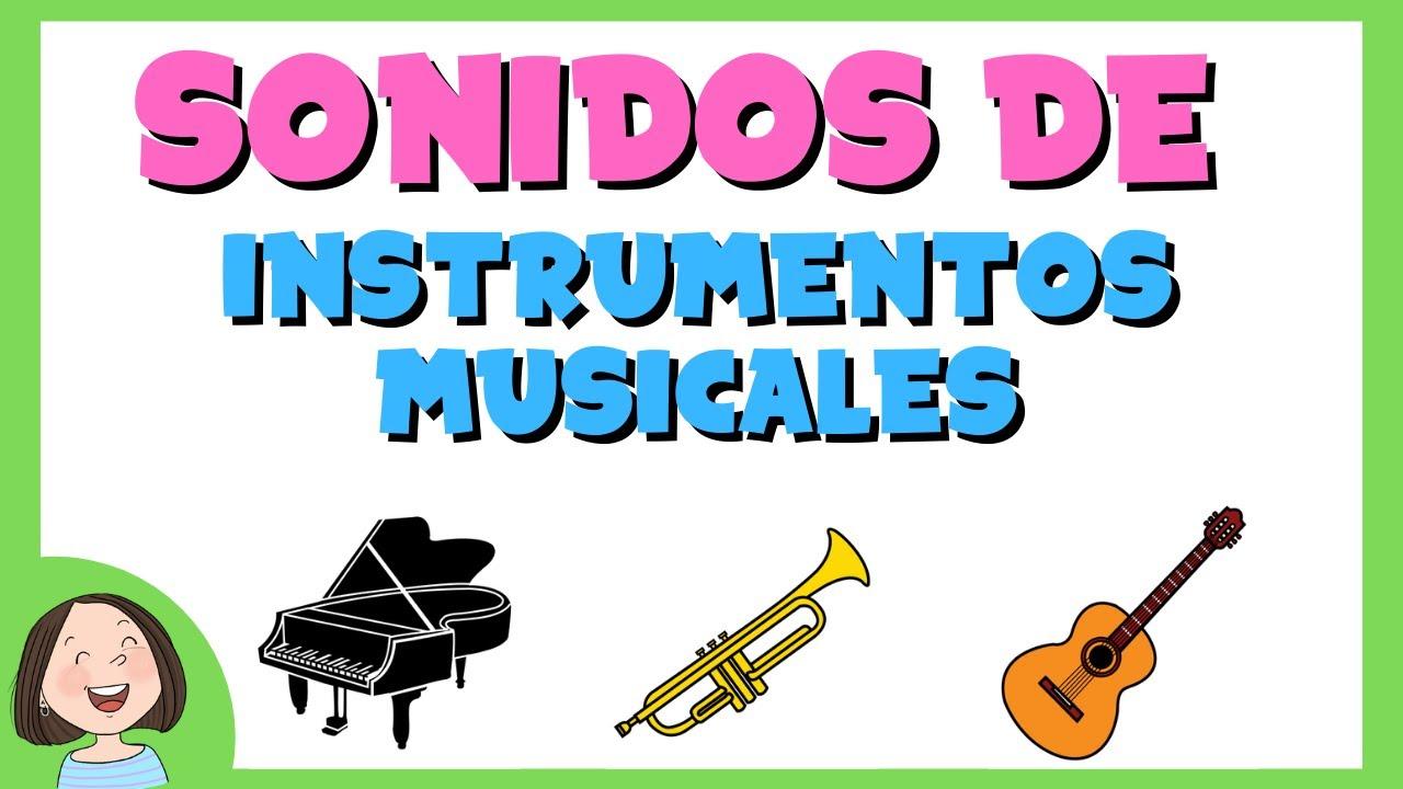 b94ad7dd89d8 Los sonidos de los instrumentos musicales_Discriminación auditiva - YouTube
