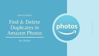 Use Amazon Photos Duplicate Finder to Delete Duplicates in Amazon Photos All at Once - Easy & Quick screenshot 2