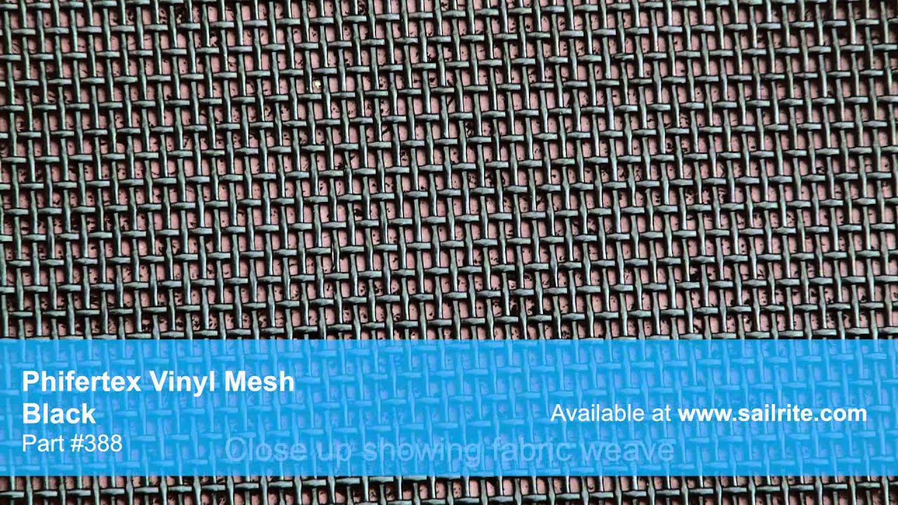 Phifertex Vinyl Mesh Fabric