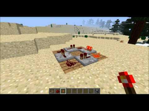 [Tutor #1]Как сделать вечный двигатель в Minecraft?