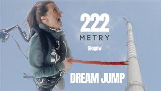 GŁOGÓW - Dream Jump 222 m - Kasia na linie! ZAWAŁ SERCA