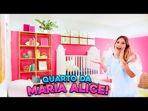 DECIDIMOS O QUARTO DA MARIA ALICE!!
