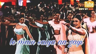 Gambar cover Le Main Saiya Aa Gayi | Mohabbatein | Whatsapp Status Video By Rok