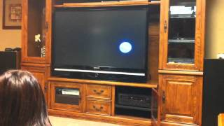 freakout after dvd player screensaver bubble hits corner perfectly