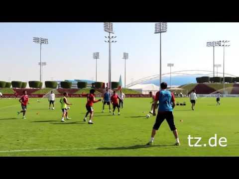 Pep Guardiola: Rondo Posesión 4x4 +3 Pivotes en el Bayern Munich