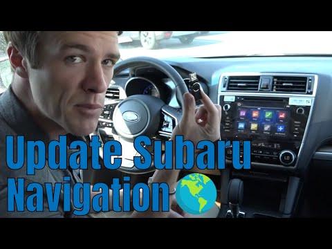 How To Update Your Subaru Maps (2018 Outback, Legacy, Impreza, Crosstrek & Newer Models)