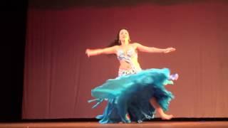 Andrea Gaya  Melhor bailarina da noite e campeã do solo profissional  CIAD 2013