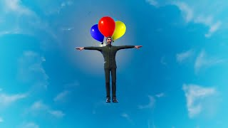 How To Dance In The Air With Balloons Fortnite Glitch (Emote While Flying)