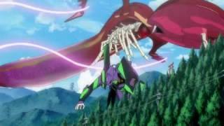 Evangelion 1.1 You Are (Not) Alone - Eva Unit 01 vs. Shamshel [480p]