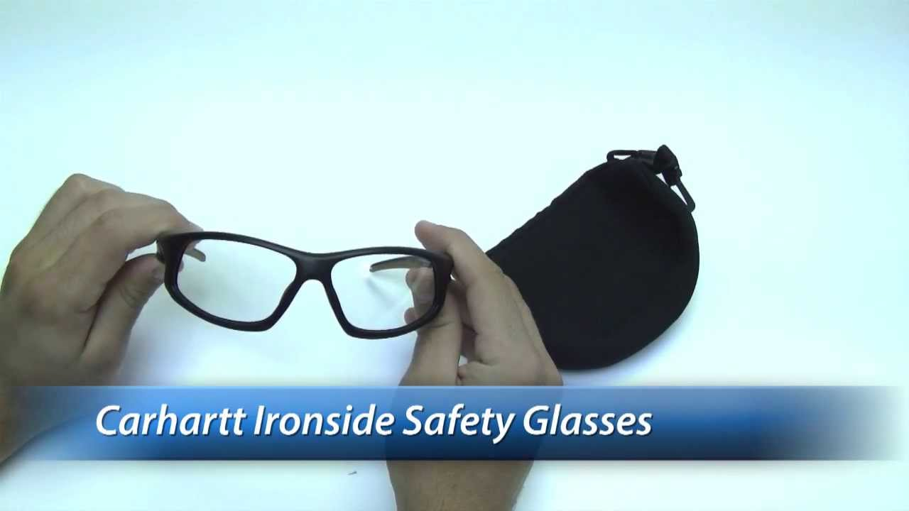 f29151a2c4 Carhartt Ironside Safety Glasses Review - YouTube