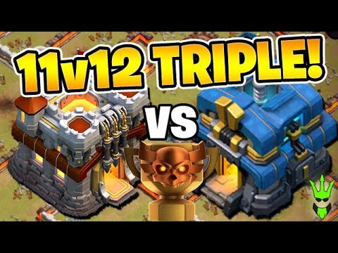 TH11 VS TH12 3 STAR IN *CLAN WAR LEAGUE*! - Clash Of Clans