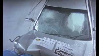 Toyota Camry 2006 ANCAP Crash Test (4 stars)