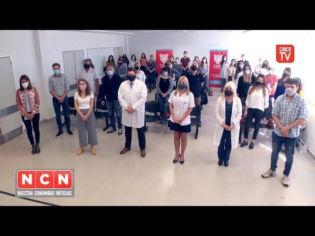 CINCO TV - El Municipio reconoció la labor de residentes egresados del sistema de salud de Tigre