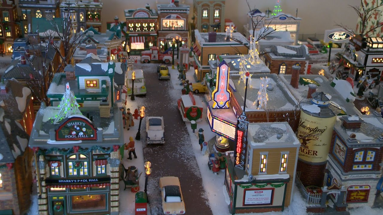 the manning christmas village 2014 - A Christmas Story Village