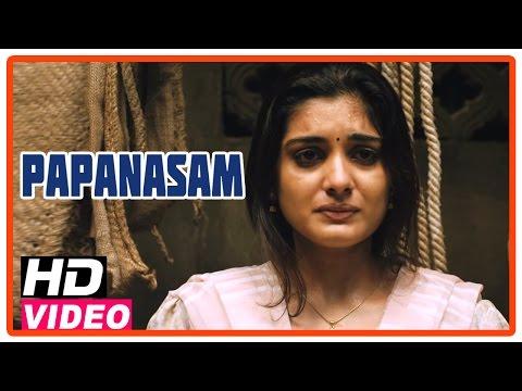 Papanasam Tamil Movie | Scenes | Roshan blackmails Gautami and Nivedha | Kamal Haasan