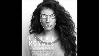 Lorde - Royals (Disclosure Remix) - re-recorded by Slowtime Beats