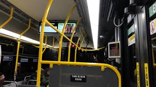 NYCT Bus | Riding New Flyer XDE40 #9509 on the B39 across Williamsburg Bridge