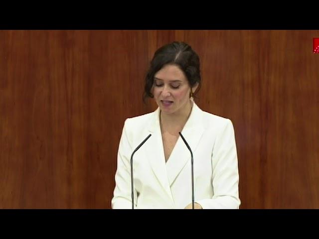 Díaz Ayuso anuncia una bajada impuestos 'historica