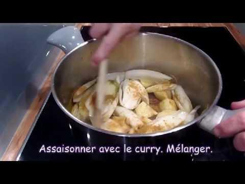soupe-aux-chicons,-saumon-fumé-et-lait-de-coco