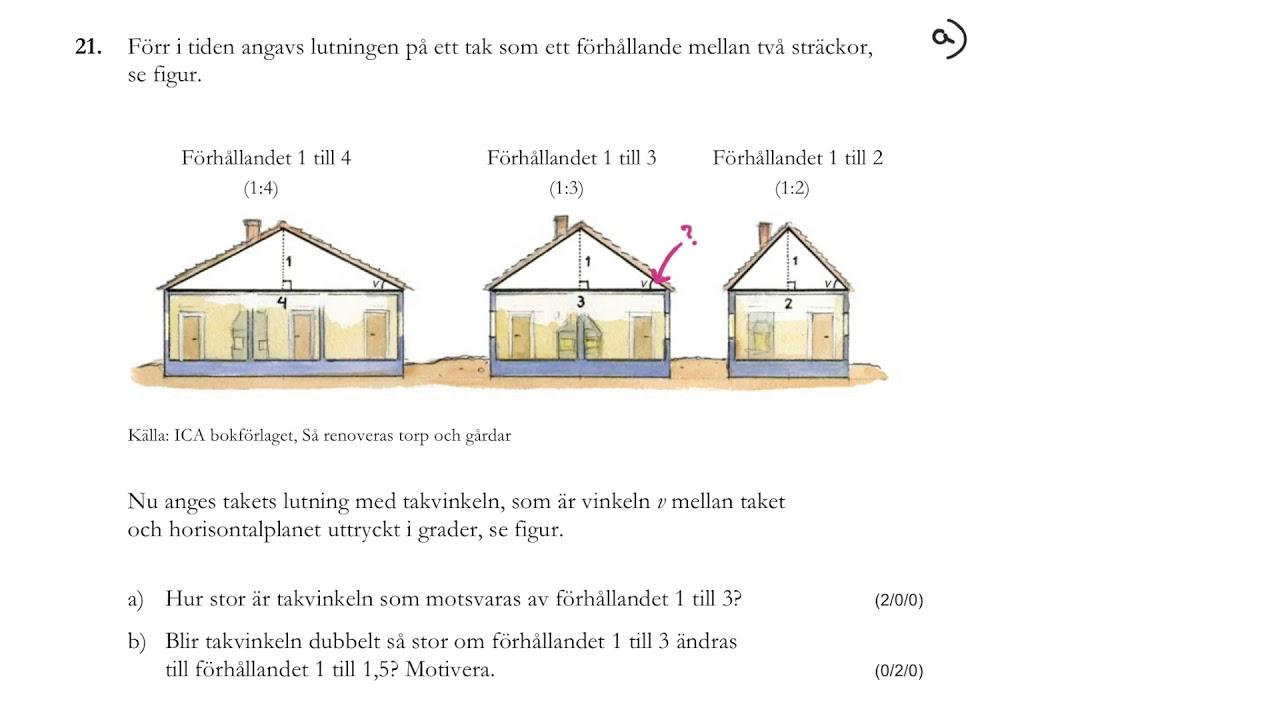 Matematik 1c. Nationellt prov HT 2016, del D. Lösningar.