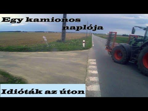 Idióták az úton Európában. Egy kamionos naplója./Videótartalom/