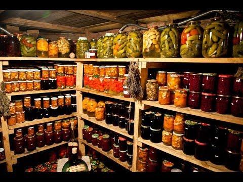 Домашние заготовки из овощей, фруктов и ягод делают около 85% российских семей