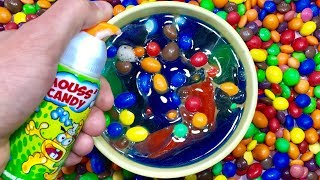 Mixing Candy with The Abc Song for Kids - Sing-Along Nursery Rhymes Baby Songs