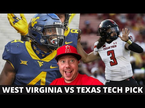 West Virginia at Texas Tech Pick Week 8 College Football Predictions