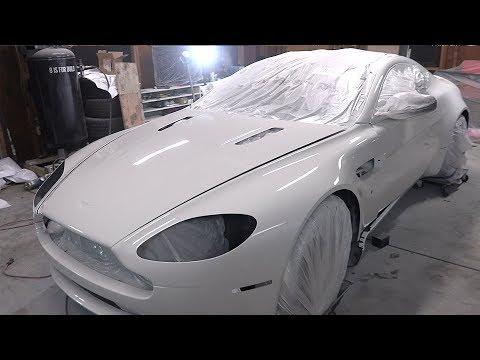 V8 Vantage Pt 8 - DIY Paint Job