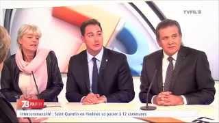 """Le 7/8 Politique – Emission spéciale """" Quel nouveau territoire pour l'agglomération ? """" du mardi 27 janvier 2015"""