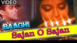 Saajan O Saajan || Baaghi || 1990 || By SADABAHAR HITS ||