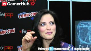 Actress Lara Pulver Discusses Starz TV Series Da Vinci
