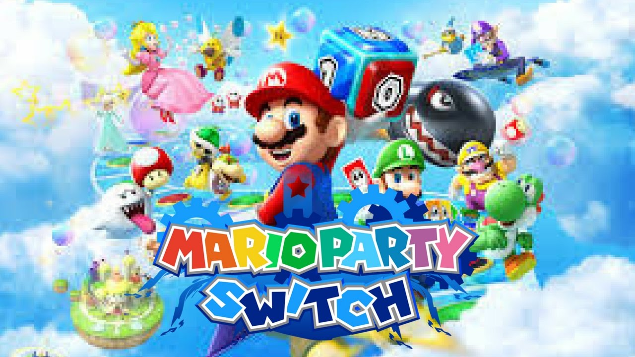 Mario Party On Nintendo Switch Mario Party Switch Vezerlo