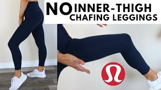 Lululemon No Chafing Pants! Final Lap Crop Legging Review & Try On