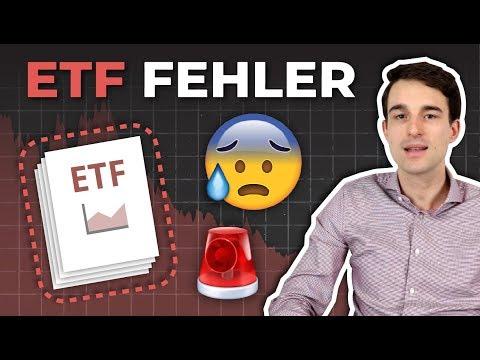 6 häufige ETF Fehler die Investoren machen | ETF Anfänger-Tipps