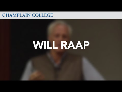 Will Raap: Speaking from Experience