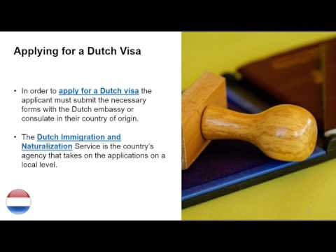 Types of Visas in the Netherlands