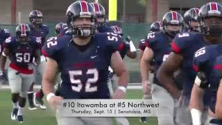 10 itawamba at 5 northwest football highlights
