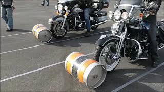 Yuma HOG Motorcycle Rodeo Games - Keg Roll