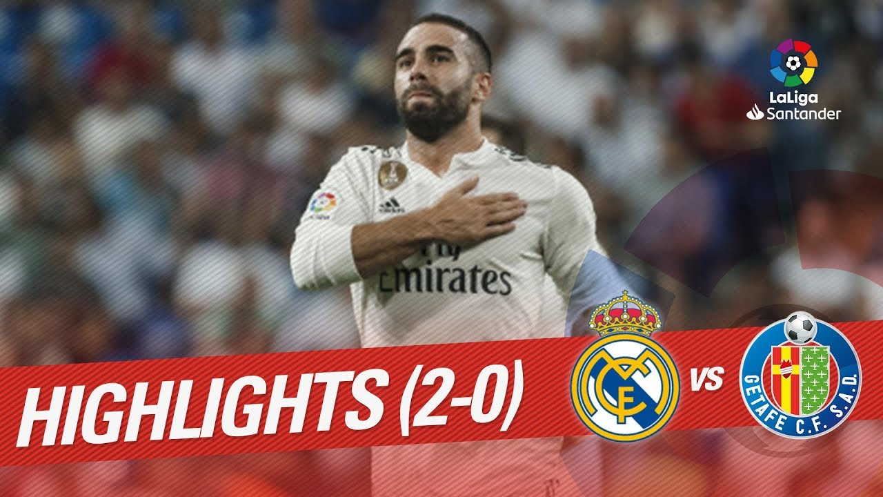 Real Madrid Vs Getafe Cf: Resumen De Real Madrid Vs Getafe CF (2-0)