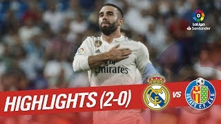 Resumen de Real Madrid vs Getafe CF (2-0)