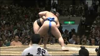 Sumo -Aki Basho 2014  Day 4 , September 17th -大相撲秋場所 2014年、4日目