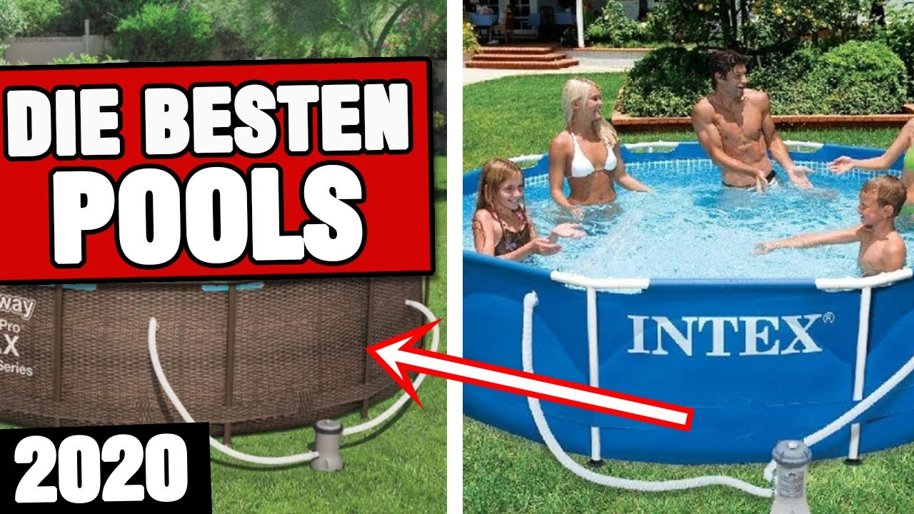 Pool Garten Test