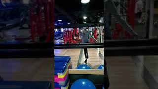 [성남하대원라이프헬스]재활운동과정 왼쪽 균형 잡기 1분…