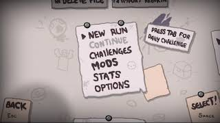Bachelorarbeit ist angemeldet - The Binding of Isaac