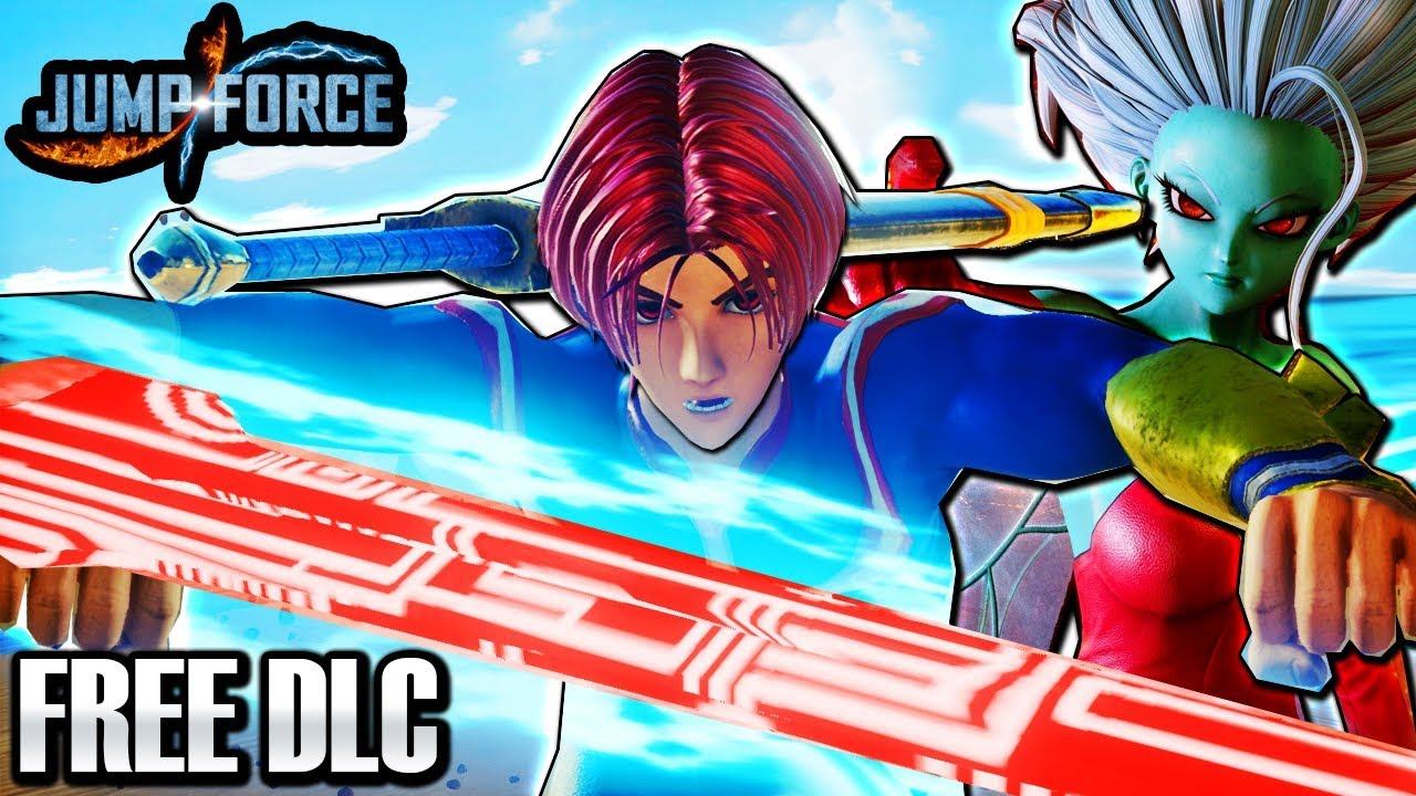 NEW FREE DLC SWORD FIGHTING CAC! Jump Force Type D CaC + Kane & Galena  Playable DLC Gameplay