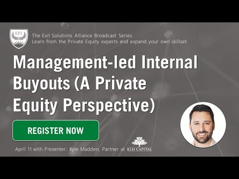 2018 04 11 13 02 Management led Internal Buyouts – a Private Equity Perspective