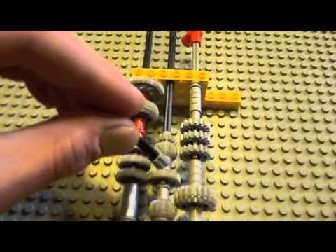 Lego 5 Speed Manual Transmission